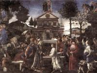 Botticelli: Die Versuchung Christi