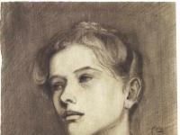 Schiele - Maedchenbildnis