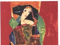 Schiele - Portraet einer Frau - Valerie Neuzil