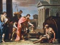 Sebastiano Ricci - Alexander and Diogenes