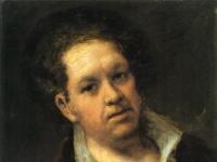 Self-portrait at 69 Years by Francisco de Goya