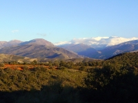 Sierra Nevada from Llano de la Perniz Granada
