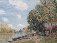Sisley_-_Moret_-_Die_Ufer_des_Loing_-_1885