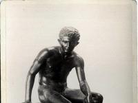"Giorgio Sommer (1834-1914) - ""Hermes (Archaeological Museum (Naples)""."