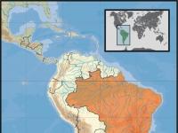 Geografische Lage Brasiliens