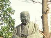 Statue of Uryu Iwako, Sensoji Temple grounds, Asakusa, Tokyo