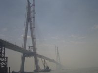 Sutong_Bridge_under_Construction_(main_structure_finished),_China