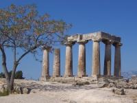 Der archaische Apollon-Tempel, Korinth