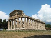 Tempel der Athene von Paestum (Italien)