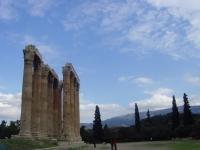 Das Olympieion (auch Tempel des Olympischen Zeus) in Athen