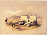 Temple of Wady Saboua, Nubia-David Roberts