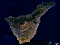 Tenerife LANDSAT-Canary Islands