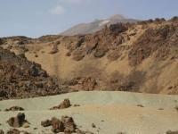 Tenerife sable vert Teide