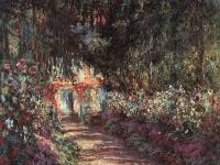 The Garden in Flower Claude Oscar Monet 1900
