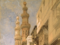 The_Gate_of_Metwaley,_Cairo)_by_David_Roberts,_RA
