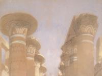 The Great Hall at Karnak) by David Roberts, RA