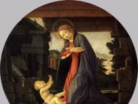 The_Virgin_Adoring_the_Child_c1490_Sandro_Botticelli