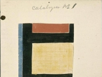 Studie for Counter-composition X. 1924