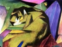 Franz Marc: Tiger