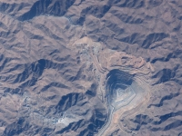 Toquepala kupfermine, Süden Perus