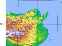 Tunisia_Topography