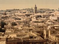 Tunis, Haupstadt Tunesiens, 1890
