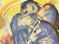 Franz Marc: Turm der blauen Pferde