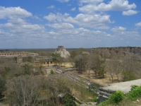 Uxmal-View-From-Great-Pyramid