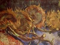 VanGogh-still-life-four_sunflowers