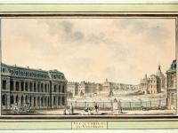 Versailles Château4 dessin