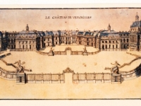Versailles Château dessin