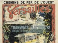 Versailles affiche Chemins de fer