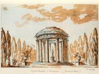 Versailles temple Trianon dessin