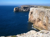 Viev from Cape St. Vincent Sagres Algarve Portugal