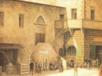 View_of_Ancient_Florence_by_Fabio_Borbottoni_1820-1902_(63)