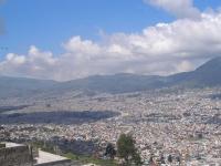 Panorama von Quito, Ecuador