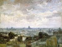 Vincent-van-Gogh-The-Roofs-of-Paris-1886