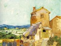 Vincent van Gogh: Die alte Mühle (1888)