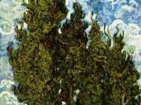 Vincent_van_Gogh_-_Crypresses_with_Two_Female_Figures