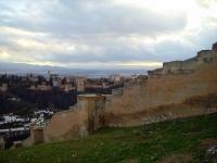 Stadtmauer von Sacromonte, nahe Granada