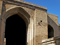 Western entrance of the Jame Mosque