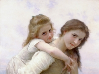 William-Adolphe_Bouguereau_Not_Too_Much_To_Carry