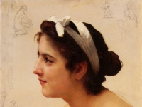 William-Adolphe_Bouguereau_Study_Of_A_Woman_For_Offering_To_Love_