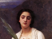 William-Adolphe_Bouguereau_The_Palm_Leaf