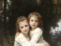 William-Adolphe_Bouguereau_Two_Sisters