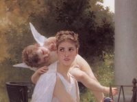 William-Adolphe_Bouguereau_Work_Interrupted