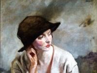 William Orpen Portrait of Miss Sinclair