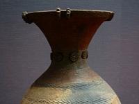 Gefäß aus der Yayoi-Kultur, (1. bis 3. Jahrhundert), Tokyo national Museum.