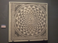 Zaragoza - Museo - Mosaico geométrico