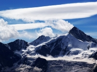 Zinalrothorn: Sicht aus Nordwest